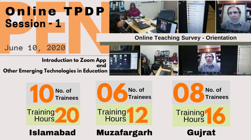 PEN Online TPDP – June 10, 2020